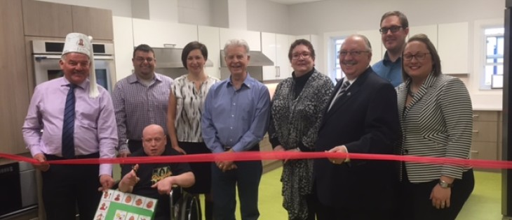 Grand Opening of New Kitchen at LCDS Petrolia