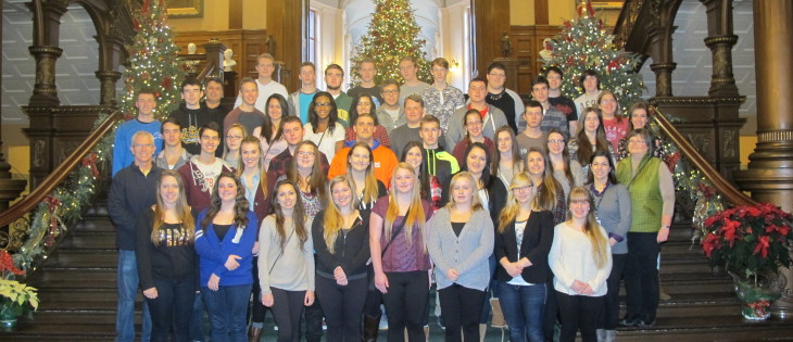 St. Patrick's Catholic School at the Legislature- December 10, 2014